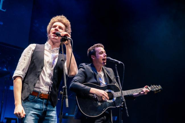 Simon and Garfunkel tribute act PICTURE: Hamish Gill