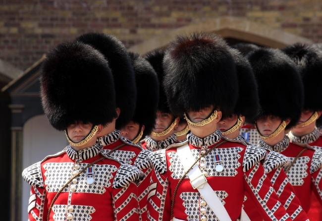 The Royal Guard at Buckingham Palace. PICTURE: Pixabay.