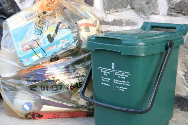 Recycling rates in Pembrokeshire are higher than any other area of Wales.