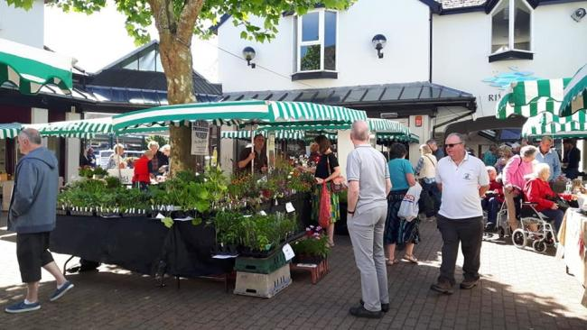 Haverfordwest Farmers Market is holding a street food-style Food Fiesta as part of Haverfordwest Festival Week.