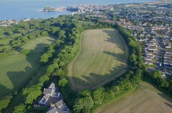 Pembrokeshire County Council wants to site 144 properties on the land at Brynhir, Tenby.
