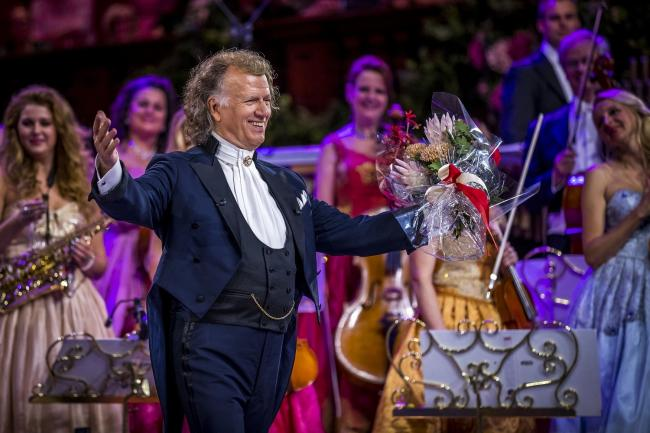 Andre Rieu asks 'Shall We Dance?' PICTURE: Marcel van Hoorn