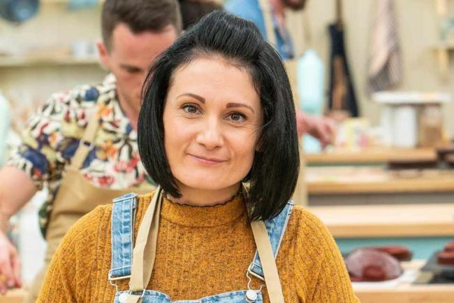 It's the first GBBO tonight for Tenby's Michelle.