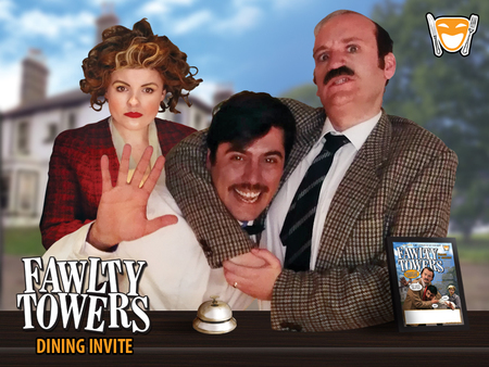 Fawlty Towers Comedy Dinner Show Swansea 31/01/2020