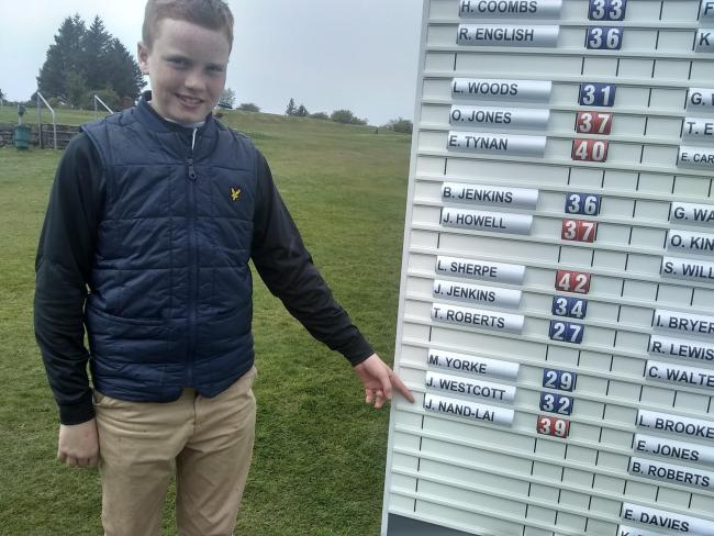 Joseph Nand-Lal wins Men's Medal at Haverfordwest Golf Club