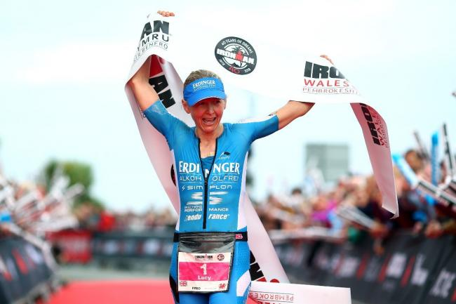 Lucy Gossage is back to defend her Ironman Wales title. PICTURE: Charlie Crowhurst/Getty Images