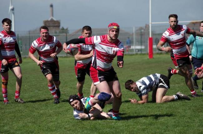 Sam Dolling scored Milford's first try.