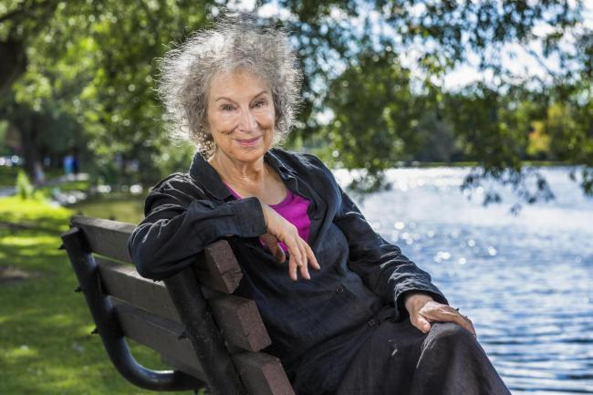 Margaret Atwood. PICTURE: Liam Sharp