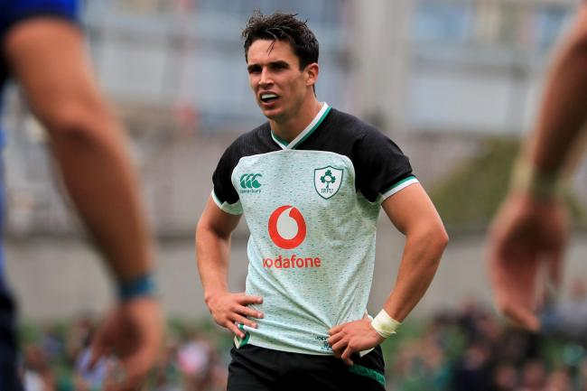 Joey Carbery admitted he feared for his World Cup when suffering injury last month