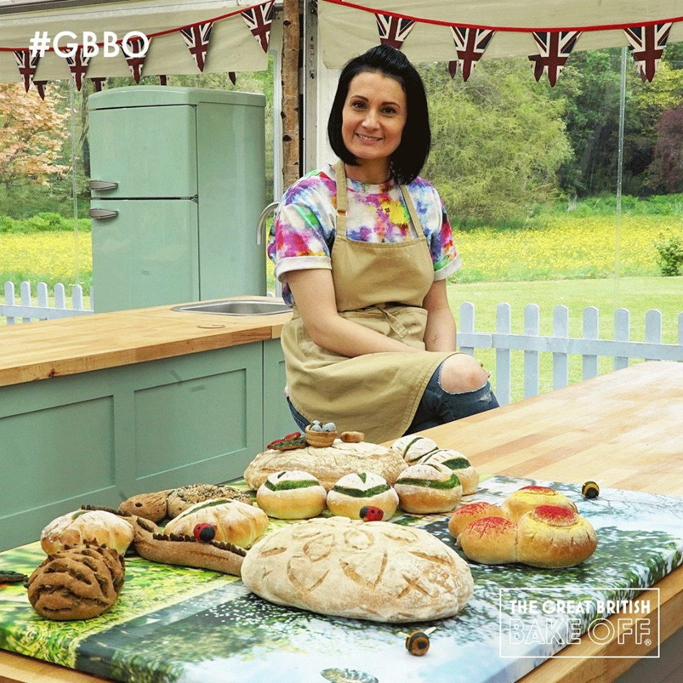 Tune in tonight to see if Michelle moo-ves on in Great British Bake Off Dairy Week