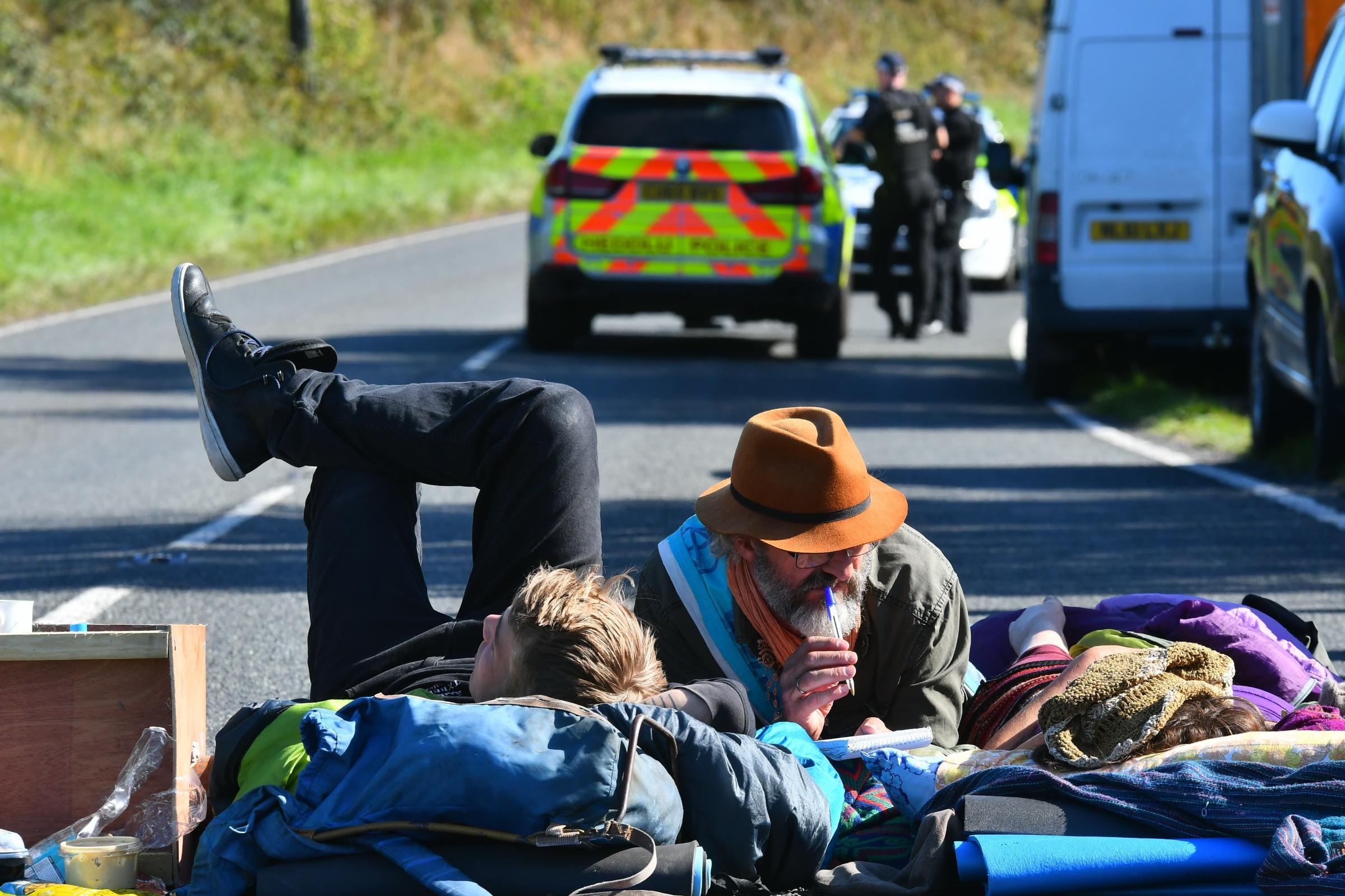 Extinction Rebellion Valero protesters not giving up
