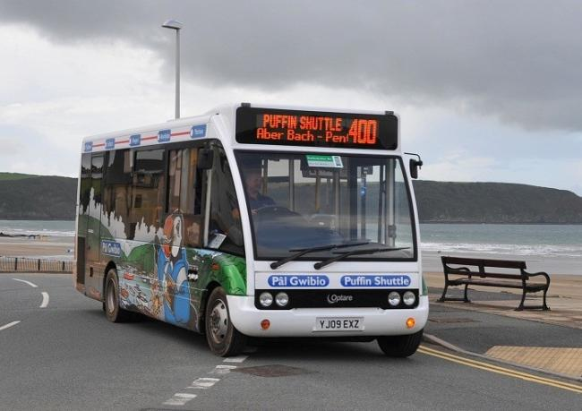 The Puffin Shuttle at Broad Haven