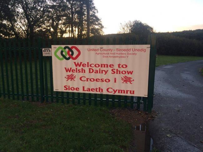The Welsh Dairy Show welcome must wait another year