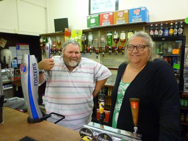 Fishguard and Goodwick Railwayman's Club is open again for business.