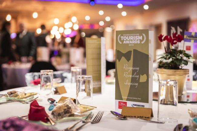 A sparkling occasion for the Pembrokeshire Tourism Awards. PICTURE: Drew Buckley
