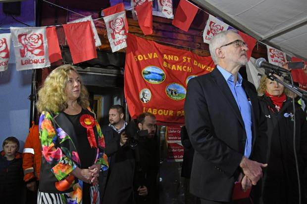 Jeremy Corbyn speaks to the crowd. PICTURE: Martin Cavaney