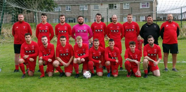 Pennar Robins pictured on the first day of the season.