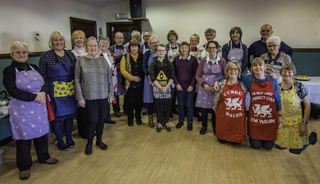Manorbier Newton Fundraisers served delicious soup and puddings to over 100 people.