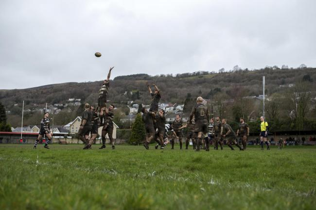 SIDELINED: Rugby hasn't been played since Cross Keys travelled to Ystalyfera in March