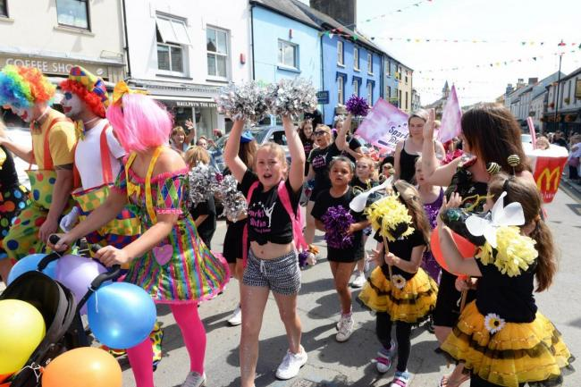 Narberth's colourful carnival will be absent from the town's streets this year. PICTURE: Gareth Davies Photography