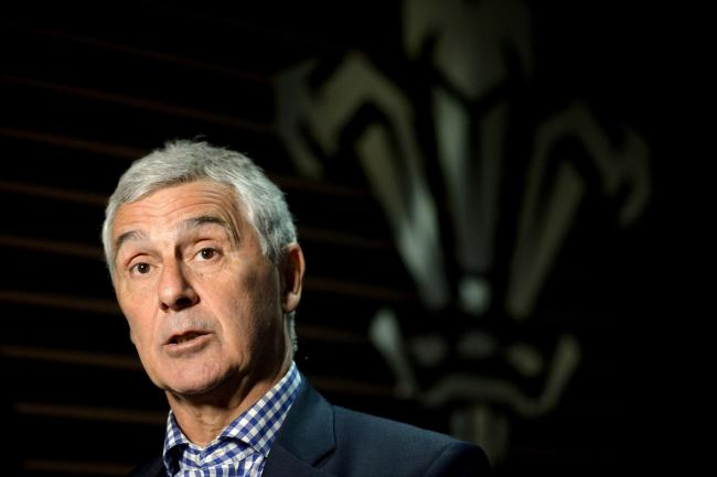 CHALLENGE: Chairman Gareth Davies says the Welsh Rugby Union is braced for a tough time financially