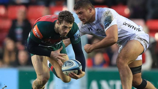 WAIT: Jonah Holmes is unlikely to make his Dragons debut after moving from Leicester (Picture: Press Association)