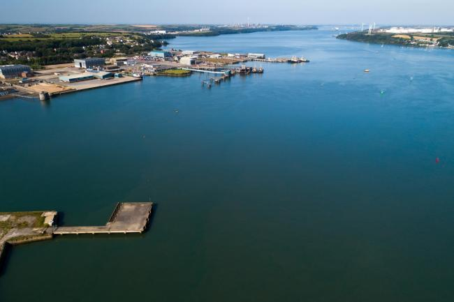 The Marine Energy Test Area within the Milford Haven Waterway, led by Marine Energy Wales