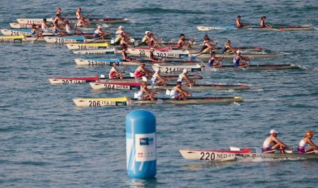 Saundersfoot will stage the 2022 World Rowing Coastal Championships.