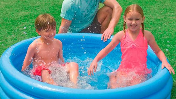 Western Telegraph: Lower your body temp with this inflatable pool. Credit: Intex