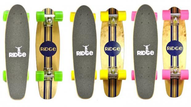 Western Telegraph: Whether you're learning to skate for the first time or returning to the habit, this board is a great way to do it. Credit: Ridge Skateboards / Amazon