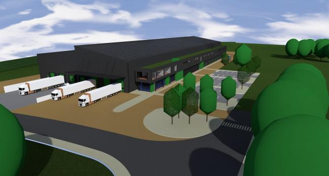 Pictured are plans for the new Puffin Produce vegetable processing facility at Withybush Road, Haverfordwest