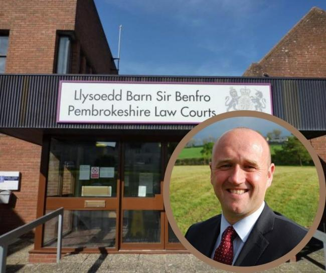 Crime Commissioner Dafydd Llewellyn has praised the courts