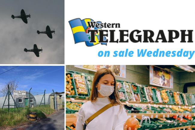 The Western Telegraph is on sale every Wednesday