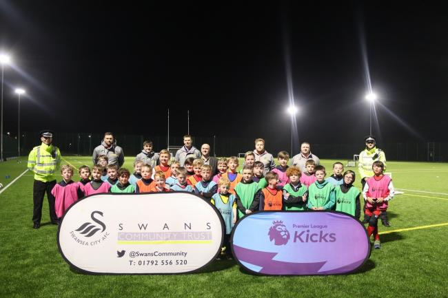 Over 90 young children attended the first PL Kicks session