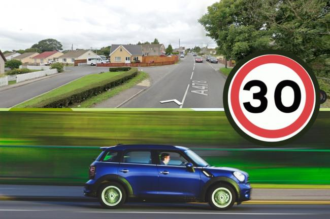 More than 70 Begelly residents have signed a petition calling on Pembrokeshire County Council to implement speed control measures