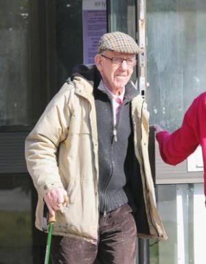 Peter Henry McShane, 84, admitted planting a hoax bomb  outside a Pembroke Dock dentist surgery