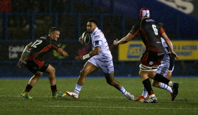CALLED UP: Willis Halaholo has become a key man for Cardiff Blues to earn Wales selection