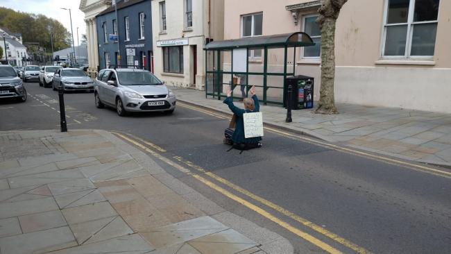 Protest in Haverfordwest this Bank Holiday weekend
