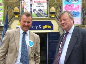 Former chancellor and Shadow Business Secretary Ken Clarke joins Simon Hart's campaign