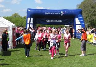 More than 1,800 runners took part in Race For Life at Scolton Manor, near Haverfordwest, Pembrokeshire on Sunday, May 9, 2010