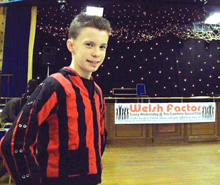 Dancer Daniel Rolls is strutting his stuff in the semi-finals of The Welsh Factor today