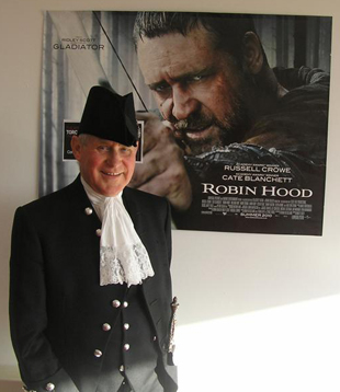 The High Sheriff launches his Go MAD at a screening of Robin Hood - a story famous for its own Sheriff of Nottingham