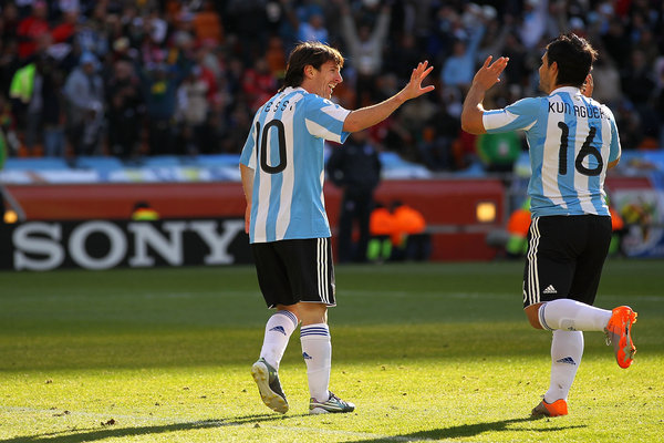 Western Telegraph: Argentina South Korea World Cup 2010