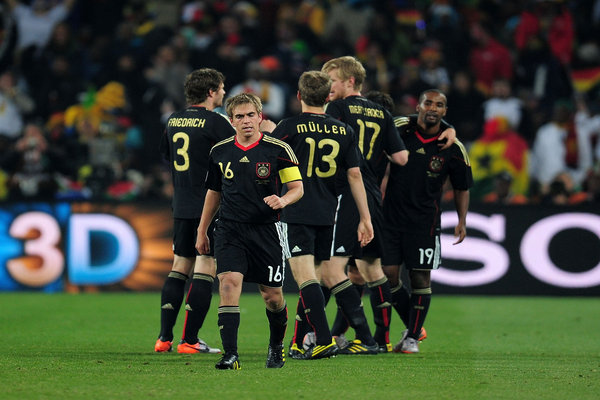 Western Telegraph: Germany Ghana World Cup 2010