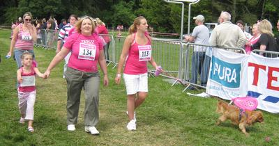 Race for Life at Scolton Manor, Haverfordwest. June 19th, 2011.