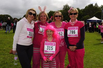 Race for Life, June 19th, 2011 at Scolton Manor near Haverfordwest.