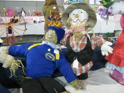 Some of the monster creations from the craft and horticultural section of the 2011 Pembrokeshire County Show.