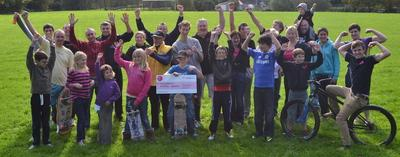 Haverfordwest Skatepark Association's massive cash injection gets the wheels rolling
