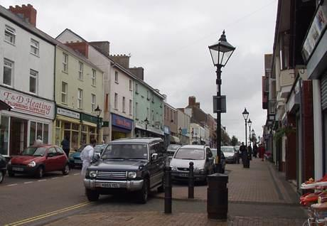 Charles Street, Milford Haven. Is it too late to save the High Street?