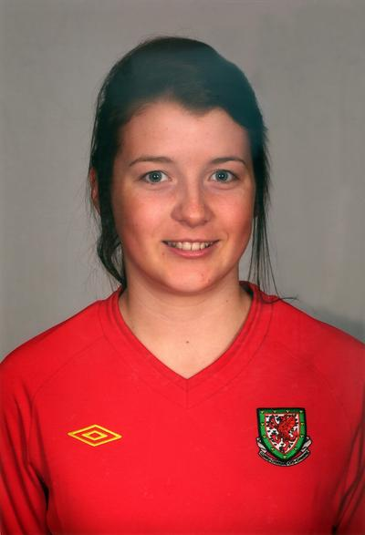 OLYMPIC HOPEFUL: Angharad James has been called into Hope Powell's provisional squad.
